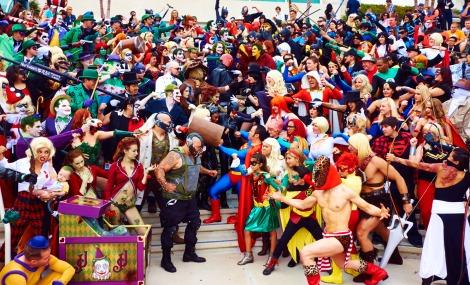 Heroes Vs Villains comicon 2013.  Gavin Bond photo